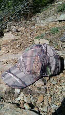 Orman Desenli Avcı Şapkası