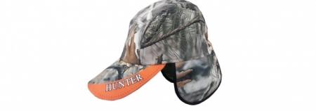 Orman Desen Kulaklı Şapka