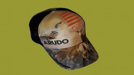 Orman Desenli Dernek Şapkası