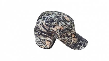 Sazlık Desen Kulaklı Şapka