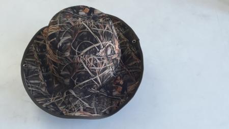 Sazlık Desenli Kovboy Avcı Şapkası
