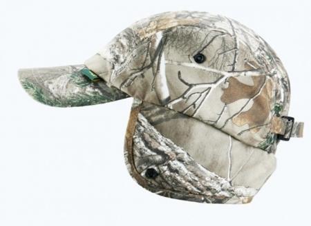 Orman Desenli Kışlık Avcı Şapkası