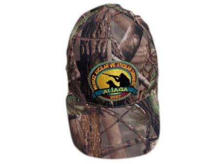 Dernek Logolu Avcı Şapkası