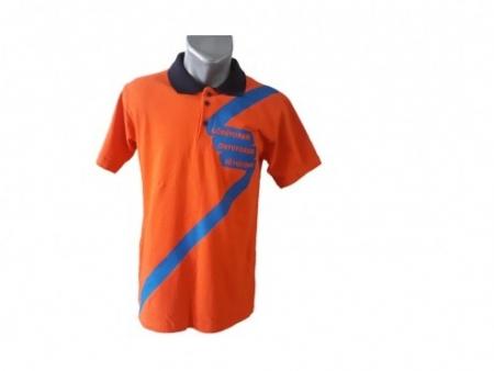 Turuncu Polo Yaka T-shirt