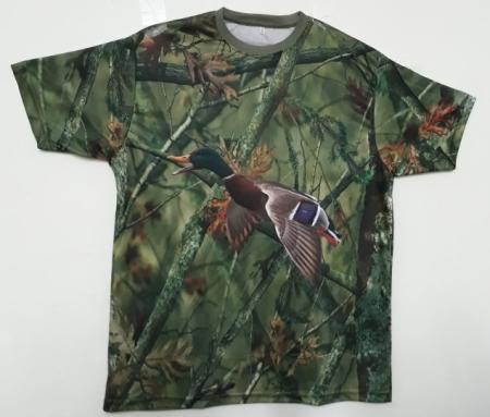 Ördek Resimli Avcı Tişört