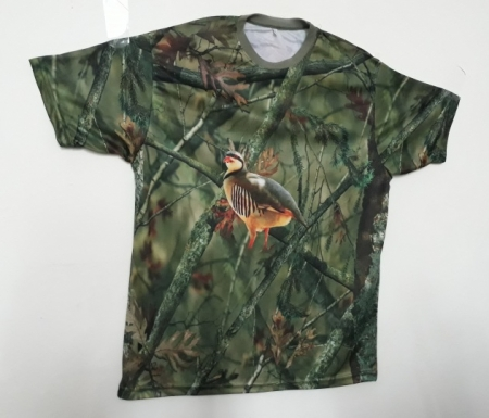 Keklik Resimli Avcı Tişört